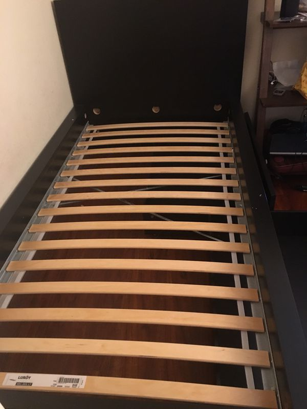 2 twin drawer beds $90 each