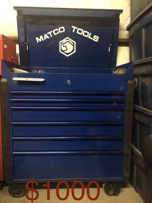 Matco tool box for Sale in Odessa, TX