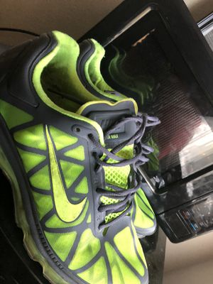 Neon green AirMax for Sale in Babson Park, FL