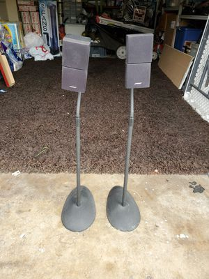 Bose Speakers with stand for Sale in Huntington Beach, CA
