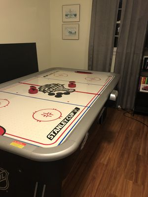 NHL Stanley Cup 84 inch conversion Air hockey /ping pong table for sale. Includes paddles, pucks, balls and net. Table comes apart for moving. Askin for Sale in Derwood, MD
