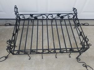 Heavy iron baker's rack for Sale in Wildomar, CA