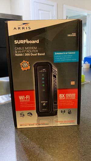 ARRIS dual Modem and Router for Sale in Kyle, TX