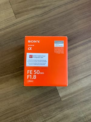 Sony 50mm 1.8 APS-C E mount for Sale in El Segundo, CA