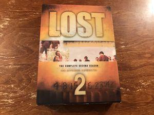 Lost season 2 DVD set for Sale in Amarillo, TX