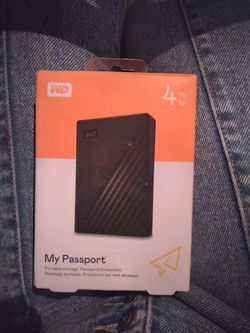 4tb portable backup for Sale in Las Vegas,  NV