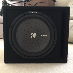 """KICKER- Comp R 12"""" for Sale in San Diego, CA"""