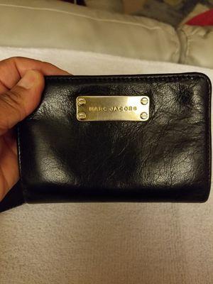 Marc Jacob black leather ladys wallet for Sale in Laurel, MD