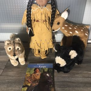 Historical American Girl Character Kaya - Doll, Book, and Characters for Sale in Upland, CA