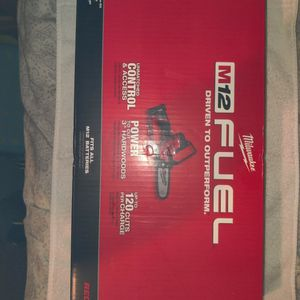 Brand New Milwaukee Pruning Chainsaw With Battery And Charger Retails 279 for Sale in Orlando, FL