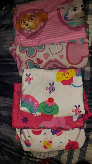 2 sets of twin girls sheets for sale! for Sale in Dallas, TX
