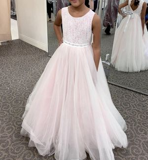 Flower girl dress /ball gown tulle for Sale in Silver Spring, MD