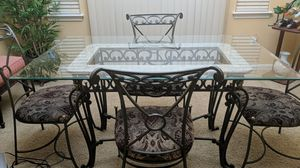 Dining table with four chairs. for Sale in Patterson, CA