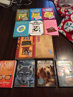 12 kids chapter books for Sale in St. Helens, OR