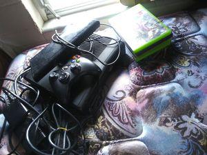 Xbox 360 slim w games for Sale in Lakeland, FL