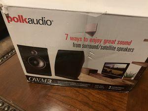 Polk Audio OWM3 Wall for Sale in Las Vegas, NV