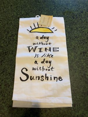 Wine Lovers Kitchen Towel for Sale in Irwin, PA