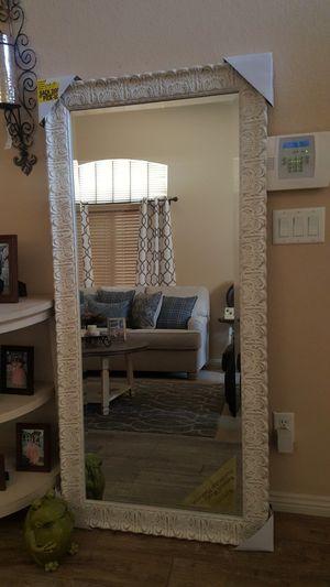 Mirror cream....farmhouse....home decor for Sale in Tolleson, AZ