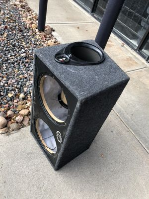 """Box for 12"""" subwoofers for Sale in Littleton, CO"""