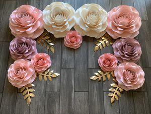 Paper roses for Sale in San Bernardino, CA