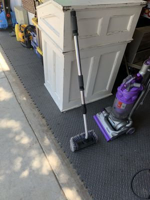 Rv or window cleaning soft brush hook up to the hose adjust to different size for Sale in Yorba Linda, CA