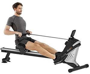 ATIVAFIT Magnetic Rower Rowing Machine 8 Level Adjustable Resistance Exercise for Whole Body with LCD Monitor for Home Use Folding Magnetic Rower for Sale in Syosset, NY