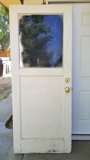 Vintage Old school Exterior Garage Doors for Sale in Reedley, CA