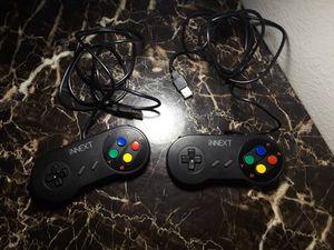 iNNext USB Nintendo SNES Controllers (P.C./Emulator/Console) for Sale in Tempe, AZ