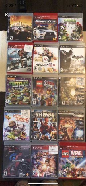 PS3 Games for Sale in Wellington, FL