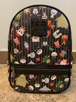 The Nightmare Before Christmas Mini Backpack By Loungefly for Sale in Irvine, CA