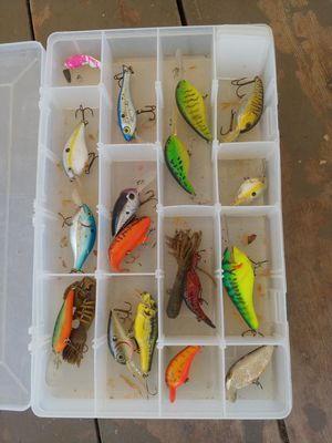 Fishing lures for Sale in Lake Elsinore, CA