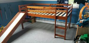 Kids Twin bed set with slide for Sale in Wall Township, NJ