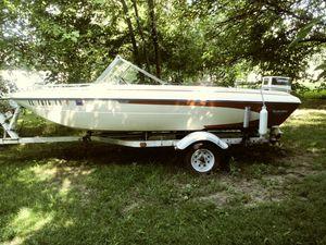 1977 glastron 28 johnson hp for Sale in Peoria, IL