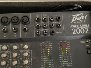 Peavey Unity Series 2002 12 channel sound board for Sale in Richmond, KY