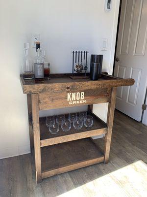 Knob creek Bar Cart for Sale in Newport Beach, CA