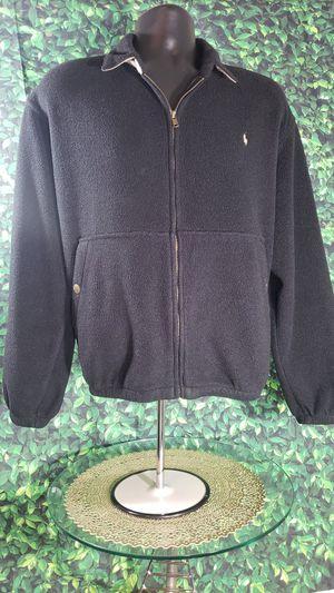 VINTAGE Polo Ralph Lauren Mens Large Full Zip Fleece Lined Winter Jacket Large for Sale in Fort Rucker, AL