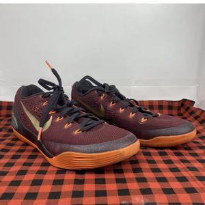 Nike Kobe 9 IX Deep Garnet Red Gold Orange Black Mens Size 7.5 Rare 646701-678 for Sale in Peoria, IL