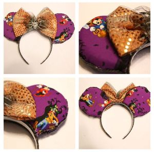 Purple Disney Halloween Minnie Ears for Sale in San Jose, CA