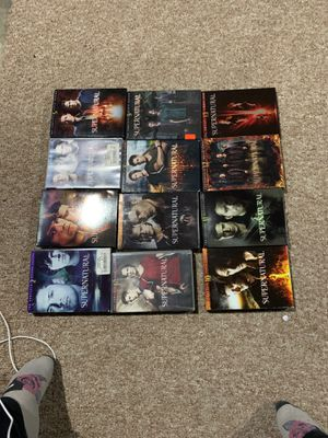 Supernatural seasons 2-13 for Sale in Canby, OR