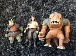 Vintage 1996/1997 Return of the Jedi action figures for Sale in San Antonio, TX