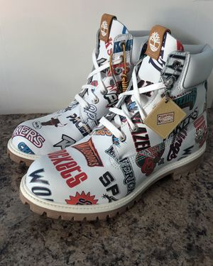 Timberland Premium Boot x Mitchell and Ness Basketball Teams Rare NBA 10 Size 10 for Sale in Bristol, PA