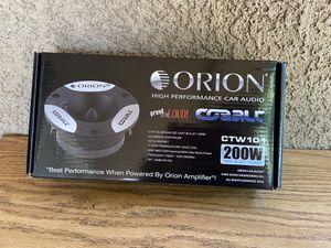 Orion bullet tweeters for Sale in Modesto, CA