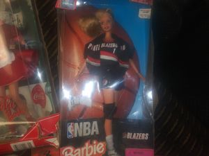 Portland Trail Blazer Barbi Doll Collectables for Sale in Phoenix, AZ