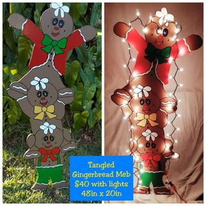 Tangled Gingerbread Men for Sale in LXHTCHEE GRVS, FL