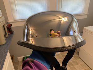 Chrome Skull motorcycle Helmet for Sale in Kannapolis, NC