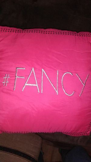 Fancy pink pillow(willing to trade) for Sale in Placentia, CA
