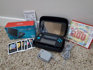 NINTENDO 2DS XL PLUS MARIO PARTY TOP 100 AND CASE for Sale in San Diego, CA