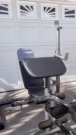 Brand New Weider In Box Olympic Adjustable Weight Bench + Squat Rack Bench Press for Sale in Chula Vista,  CA