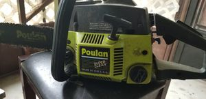Poulan 2900 2.8 CI chainsaw for Sale in Inverness, FL