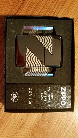 Zippo 2020 collectible of the year Z2 vision armor black ice 49194 for Sale in Los Angeles, CA